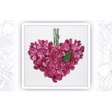 """Набор """"Фиолетовое сердце. Май"""""""