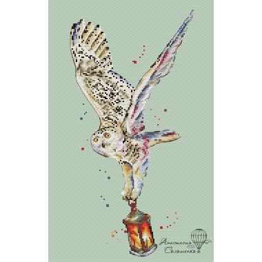 """Схема """"Snowy owl """""""