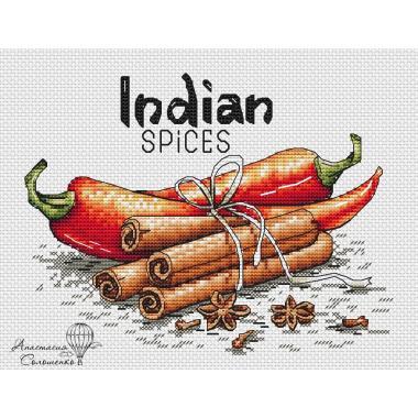 """Схема """"специи Индии"""""""